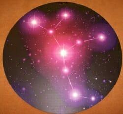 Printed star disk
