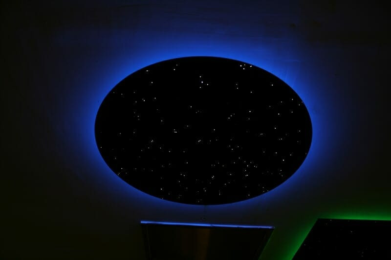 Star ceiling disk